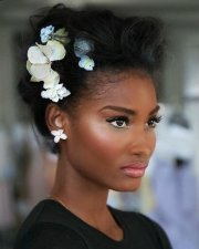 wedding hairstyles black