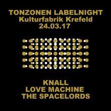 Knall, Love Machine und The Spacelords i.d. Kufa Krefeld