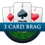 Play 3 Card Brag Online William Hill