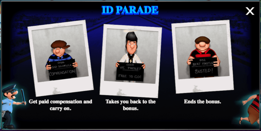 cops and robbers id parade