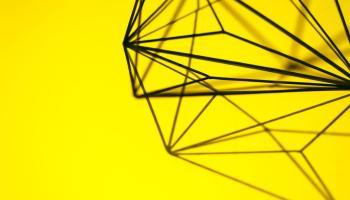 Yellow Metal Design Decoration | Betsol