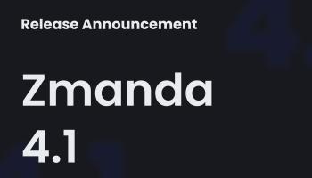 Zmanda 4.1 Release Preview