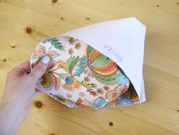 Turn the weaving basket from the right |  Betsy Sewing