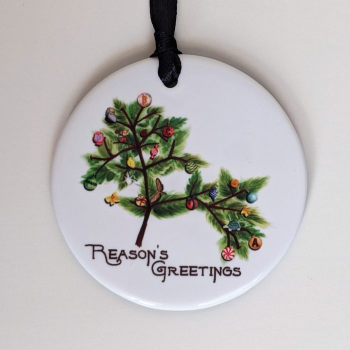 Atheist Christmas Ornaments and Cards