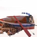 Paper Calliope Altered Boat with Hidden Desk Calendar 1 web