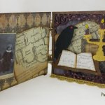 Do you know What Witches Do? This altered book may tell you