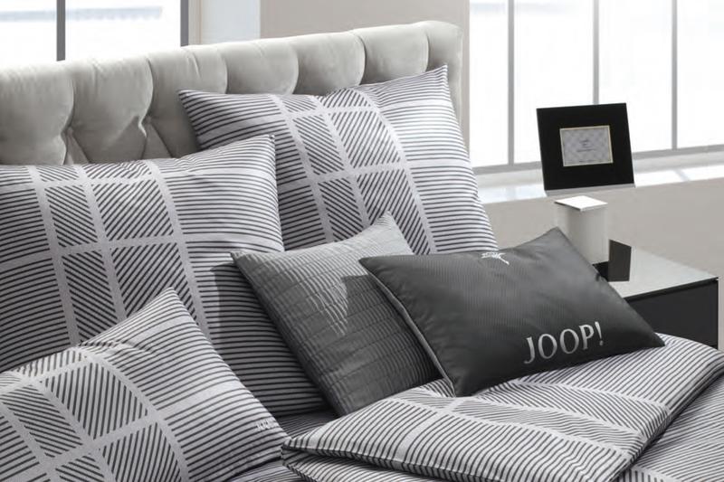 Designer Bettwsche im grafischen BaumwollSatinDesign  Betten Kramer