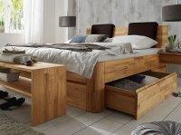 Massivholz Doppelbett mit Bettkasten - Zarbo | BETTEN.de