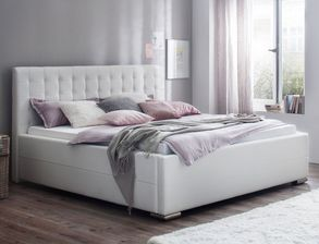 Modernes Bett Boretto Aus Pflegeleichtem Kunstleder