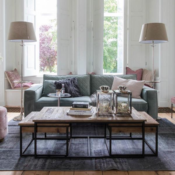 riviera maison beistelltisch couchtisch shelter island coffee table set