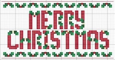 Christmas Holly Alphabet 17