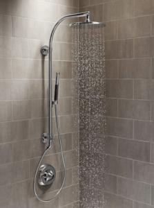 Effortless Bathroom Remodel with Kohler HydroRail Shower