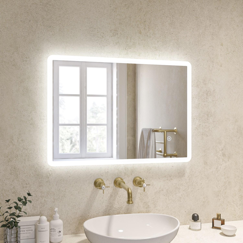 500 X 700mm Illuminated Led Bathroom Mirror Ariel Better Bathrooms