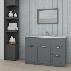 Kitchen Flooring Options Sink Designs Nottingham Grey Framed Mirror