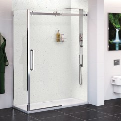 Kitchen Showrooms Design A Island White Quartz Wall Panel - 2400 X 1000 10mm