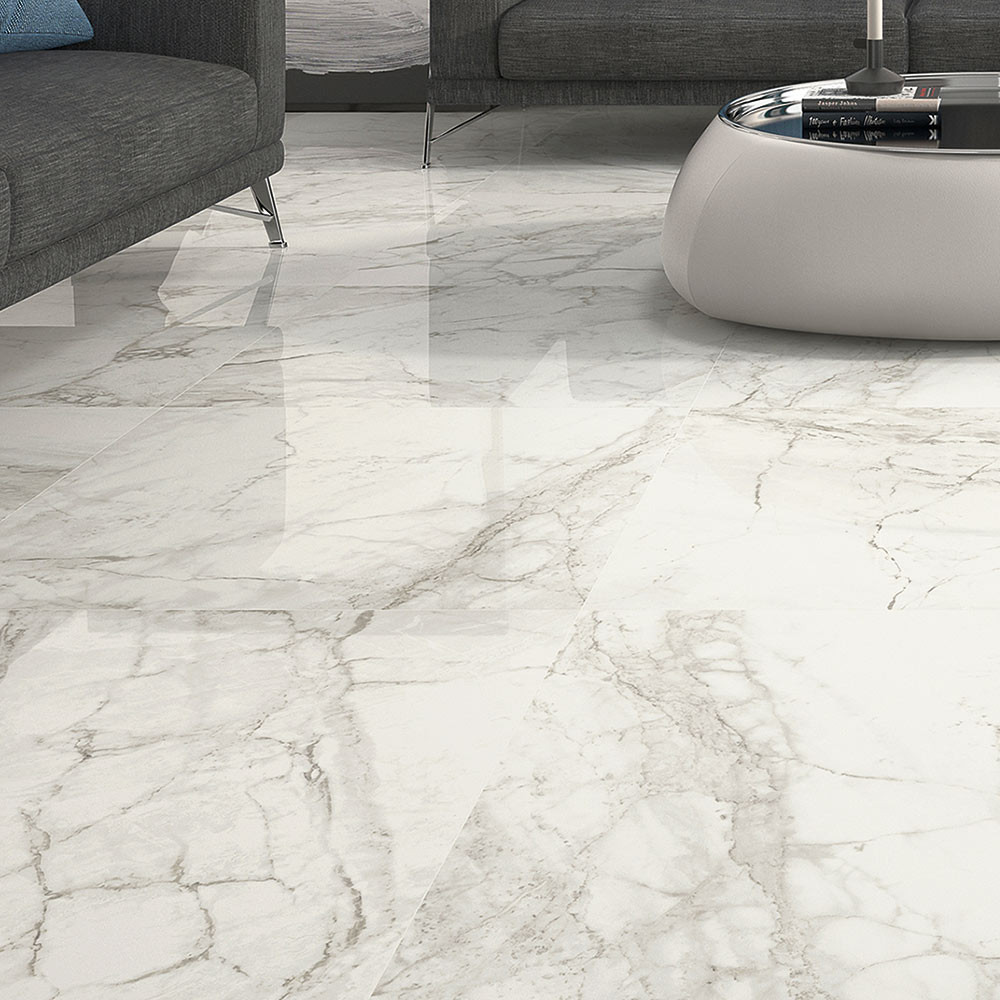 tile flooring for kitchen gray floor large format luni blanco polished porcelain rectified ...
