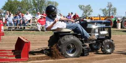 Tractor Pull at Covered Bridge Days in Brodhead, Wisconsin