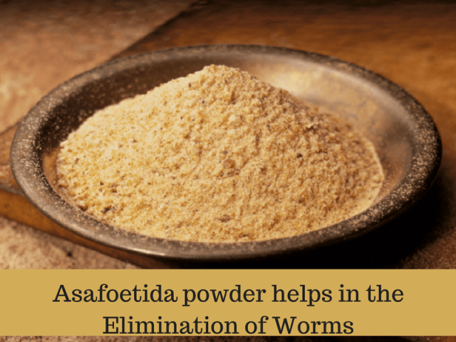 Asafoetida Powder/Hing for stomach worms