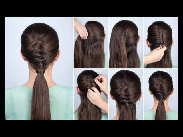 low pony with a twist hairstyle (1)