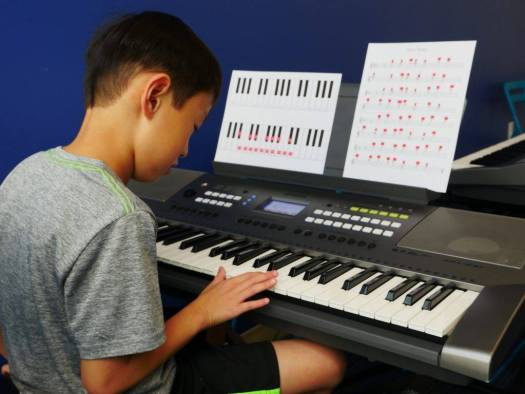 7 notes music camp