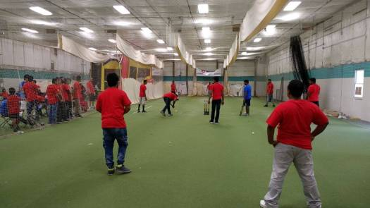 cricmax indoor cricket facility