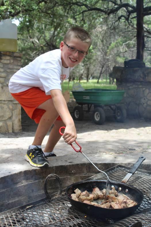 camp stewart for boys