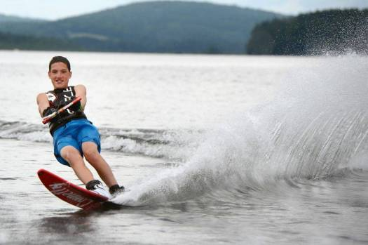 water sports at camp manitou