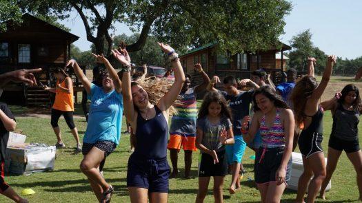 still water camp kids dancing