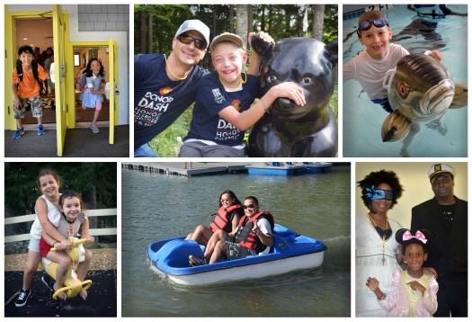 camp sunshine families