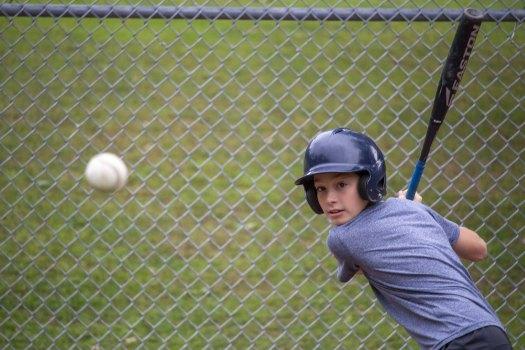 Camp Takajo 1 baseball