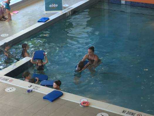 elite sports club swimming lessons