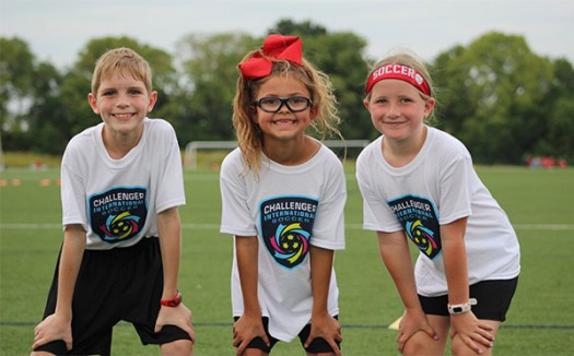 challenger sports soccer camps