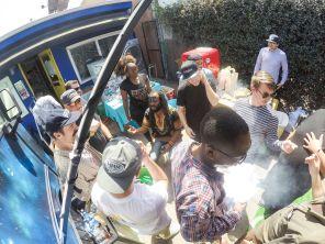 Outside Jam In The Van