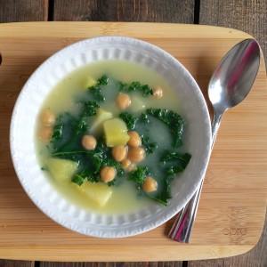 Potato and Kale soup - BetterChoiceNutriton.com