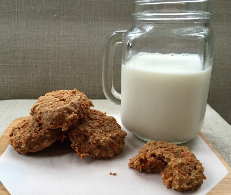 Peanut Butter Carrot Cake Cookie