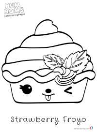 Num Noms Coloring Pages for kids - Free Printable Coloring ...