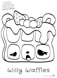 Cute Num Noms Coloring Pages - Free Printable Coloring Pages