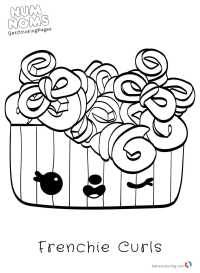 Printable Num Noms Coloring Page - Free Printable Coloring ...