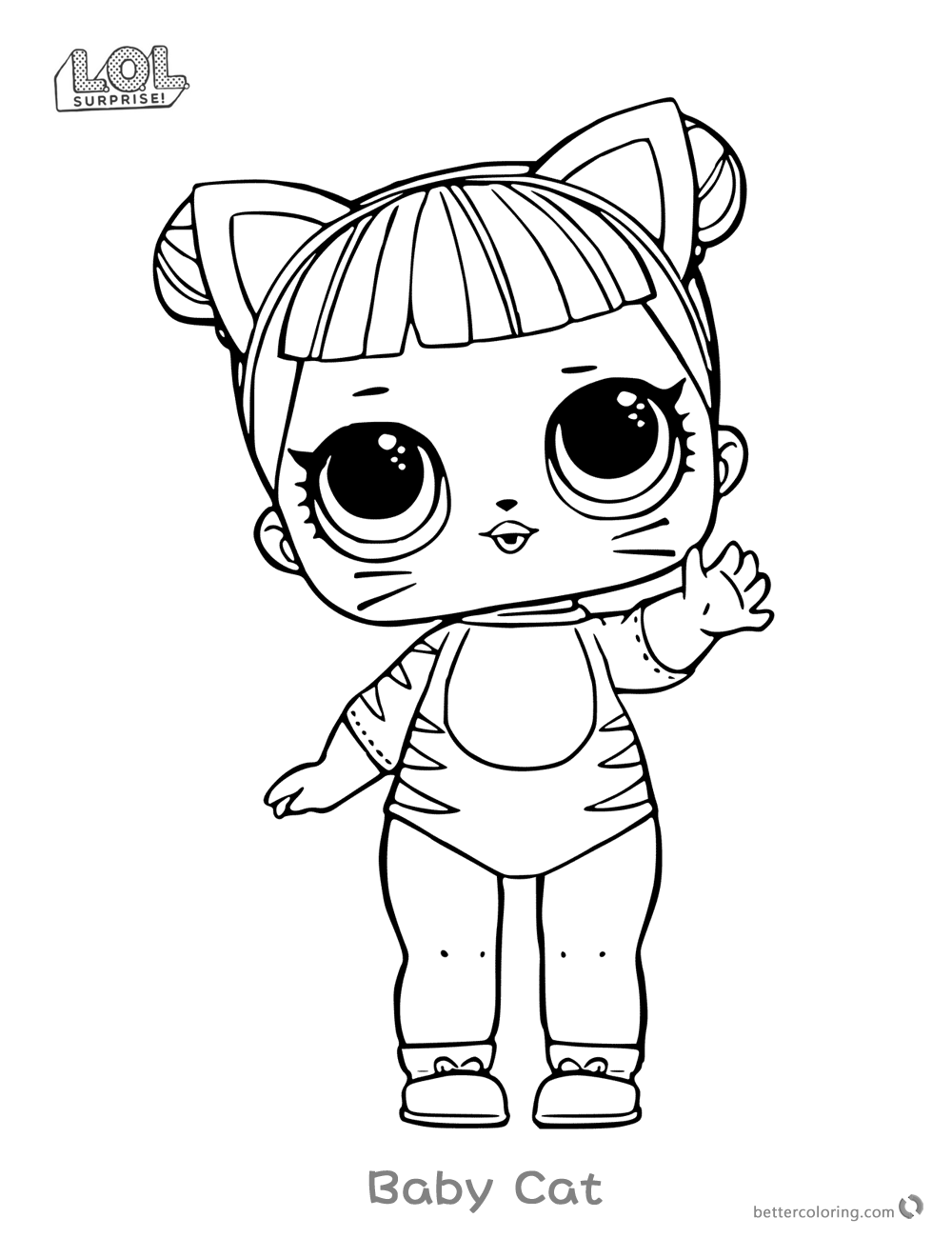 Lol Surprise Dolls Coloring Pages Sketch Coloring Page – Cute18