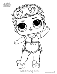 LOL Surprise Sparkle Coloring Pages - 12 Free Printable Coloring ... | 260x200