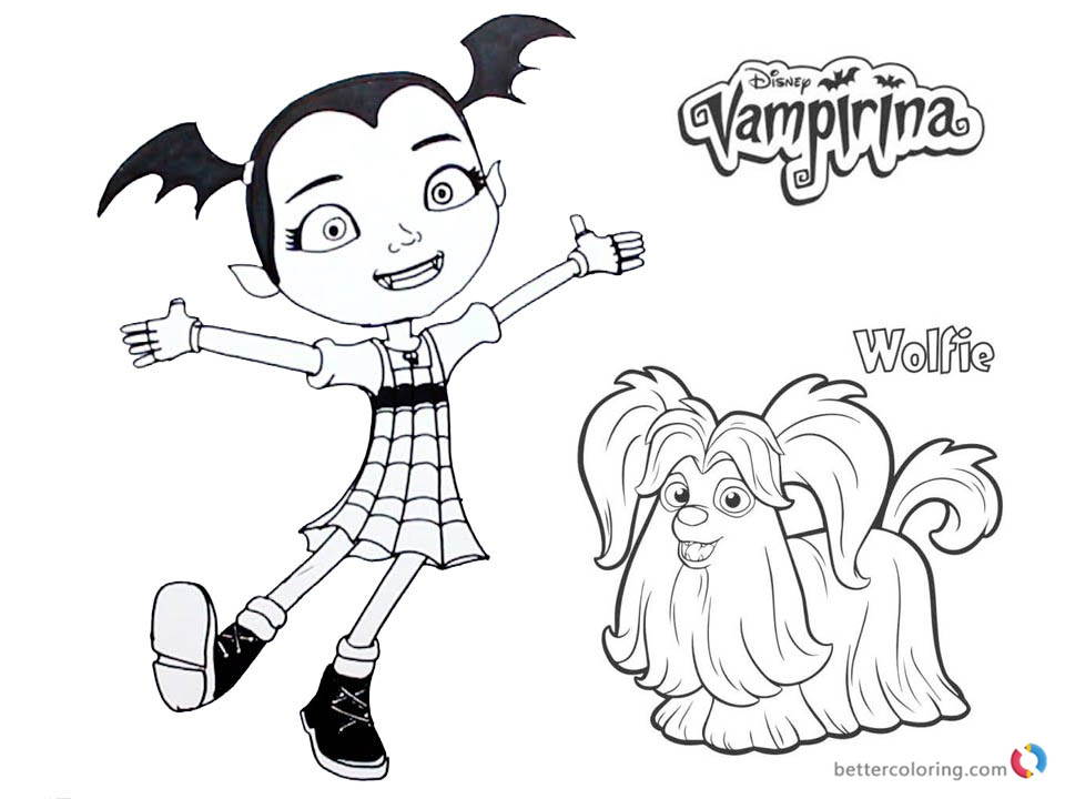 Cozy Disegni Di Vampirina Da Colorare Ofertasvuelo