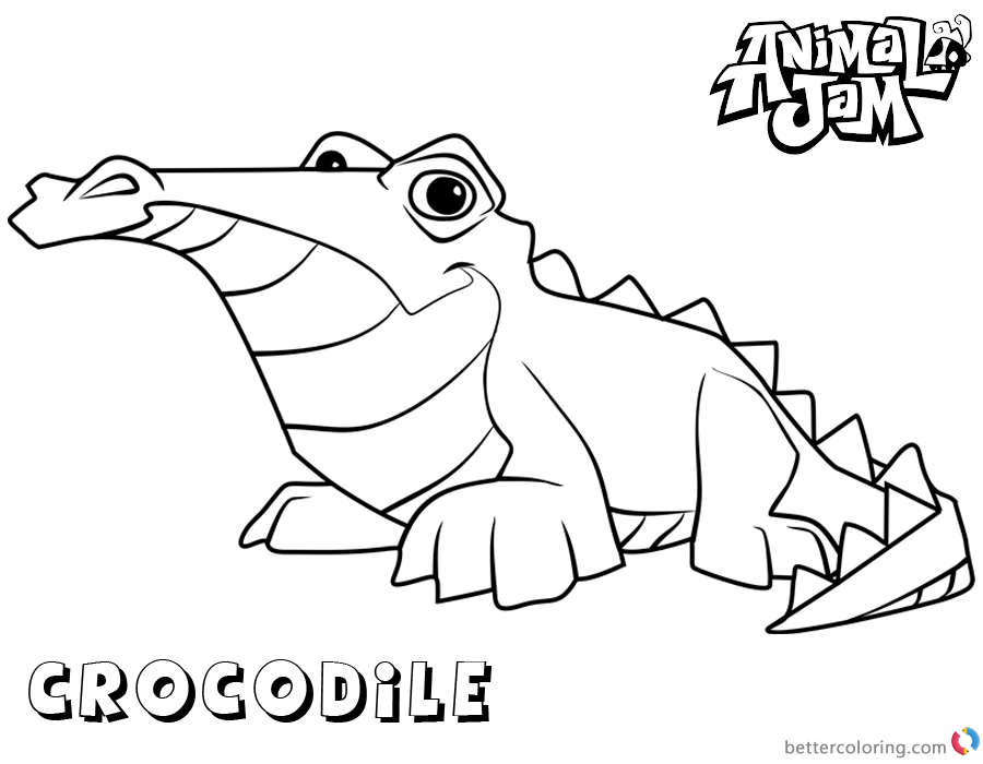 Animal Jam Snow Leopard Coloring Pages