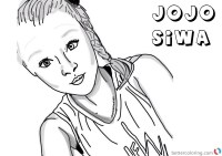 Jojo Siwa Coloring Pages by drawingiconss - Free Printable ...