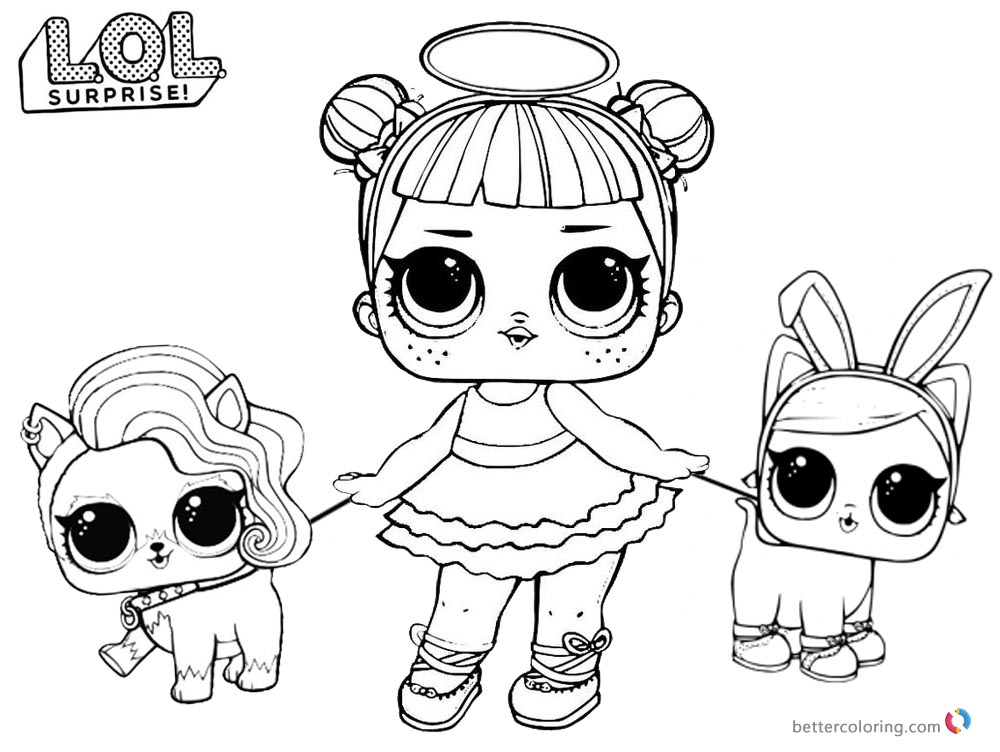 Lol Anew Baby Coloring Pages