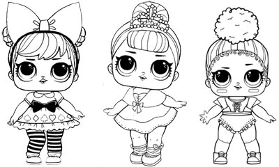 Lol Surprise Queen Bee Coloring Pages Coloring And Drawing