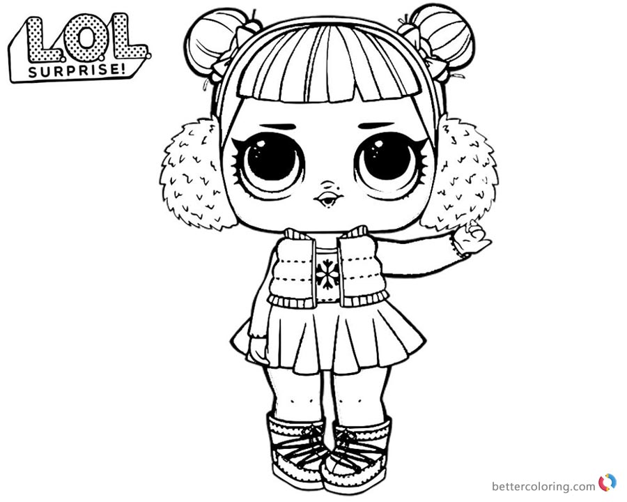 lol coloring pages doll surprise dawn