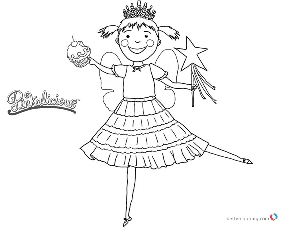 pinkalicious coloring pages free coloring pages download xsibe