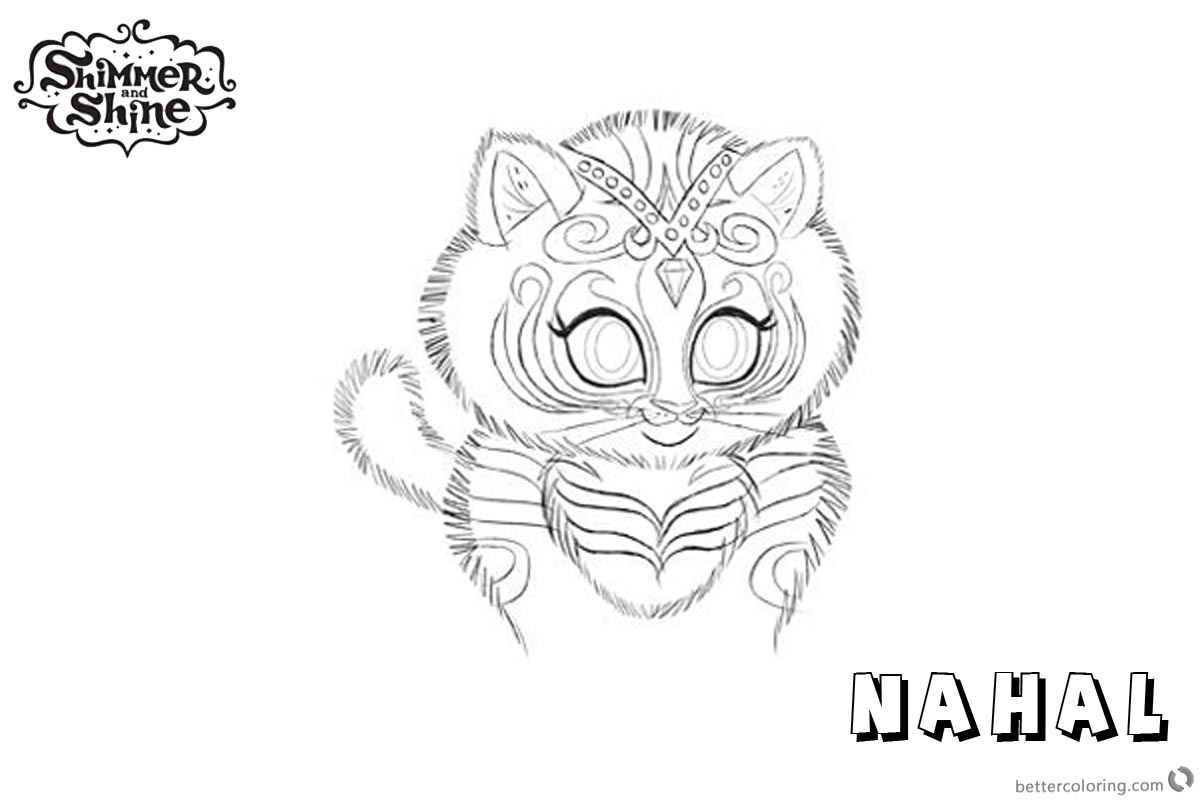 Shine Coloring Pages Printable Sketch Coloring Page
