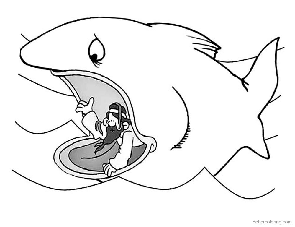 Jonah And The Whale Coloring Pages Jonah Ask for