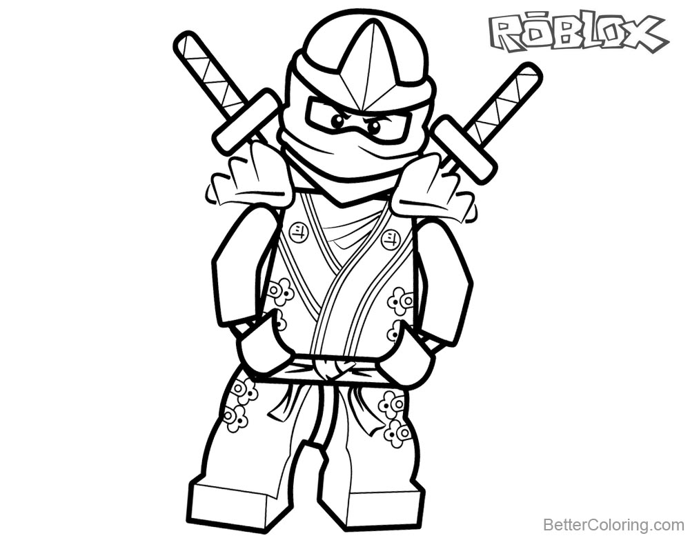 Denis Roblox Coloring Pages